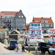 Stock Photo: In the port of Volendam. Netherlands