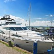 Yachts in the port of Volendam. Netherlands — Stock Photo
