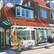Stock Photo: Volendam on street. Netherlands