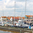 Ships in the port of Volendam. Netherlands — Stock Photo #12228663