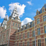 Rijksmuseum in Amsterdam. Netherlands — Stock Photo #12367378