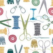 缝制颜色背景 — 图库矢量图片