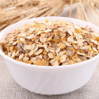 Oat flakes — Stock Photo #10880077