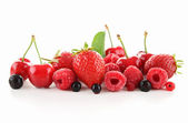 Assorted of berry fruit — Stock Photo