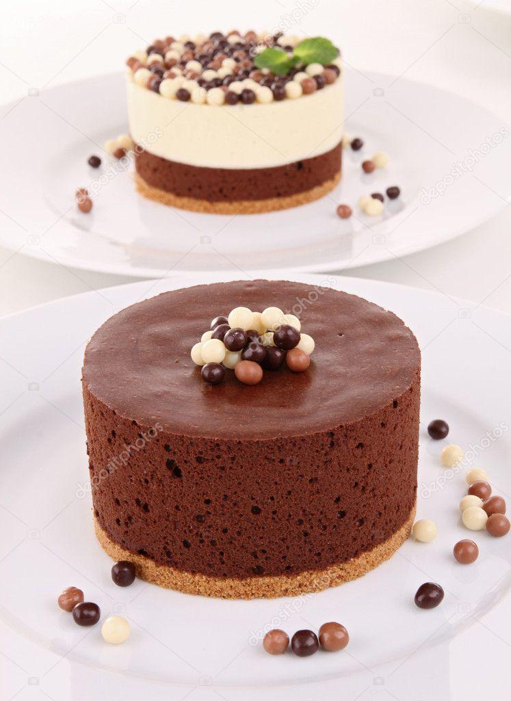 Муссы для торта шоколадные