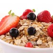 Cereals and fruits — Stock Photo #10944637