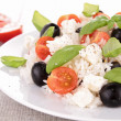 Healthy rice salad — Stock Photo #11089980