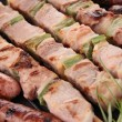 Stock Photo: Grilled skewer