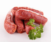 Isolated sausage — Stock Photo