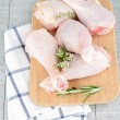 chicken leg&quot — Stock Photo #11318334