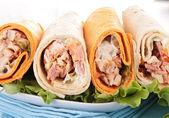 Sandwich wrap — Stock Photo