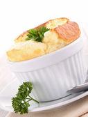 Appetizer, souffle — Stock Photo