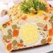 Vegetable cake/terrine — Stock Photo