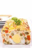 Vegetable cake /terrine — Stock Photo