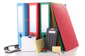School or business accessories — Stock Photo