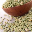Stock Photo: Raw split pea