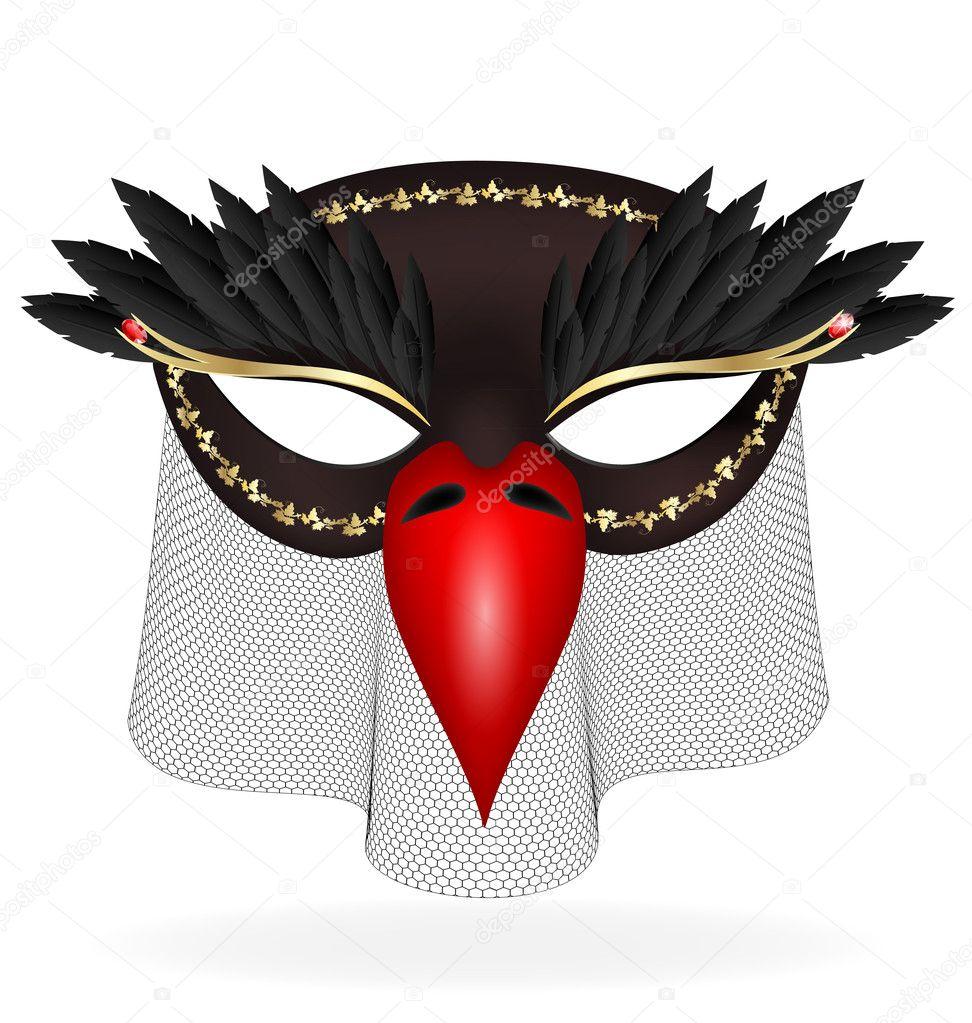 Сделать своими руками маску журавля