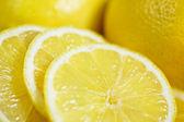 Slices of lemons — Stock Photo
