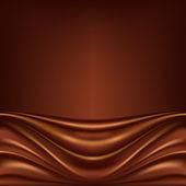 抽象的な背景がチョコレート — ストックベクタ