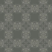 бесшовные обои с цветочным орнаментом — Cтоковый вектор