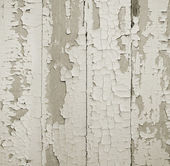Old paint on a wooden wall — Stock Photo