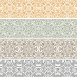 Ornamental seamless pattern - Stock Vector