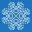 Design snowflake — Stock Vector