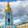 Bell tower at St. Michael monastery in Kiev, Ukraine - Foto Stock