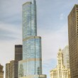 Trump International Hotel and Tower in Chicago — Stock Photo #11613323