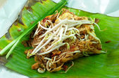 Thai noodle fried — Stock Photo