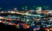 Hua hin miasto noc pejzaż — Zdjęcie stockowe