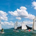 Hua Hin Regatta 2012, sailing competition — Stock Photo #12134855