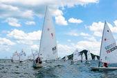 Hua Hin Regatta 2012, sailing competition — Stock Photo