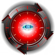 Time of hypnosis — Stock Photo