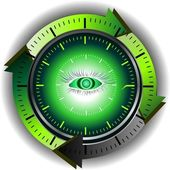 Time of hypnosis — Stock Vector