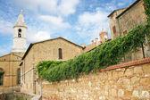 The Duomo in Pienza — Stock Photo