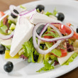 Traditional Greek salad — Stock Photo