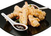Shrimp tempura — Stock Photo