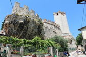 Castle Scaligeri in Malcesine, Italy — Stock Photo