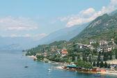 Panorama lake Garda — Stock Photo