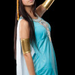 Ancient Egyptian woman - Cleopatra — Stock Photo