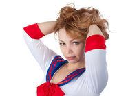 Sexy sailor — Stock Photo