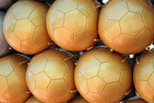 Soccer balls — Stock Photo