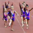 Girls perform on the opening ceremony — Stock Photo #11276079