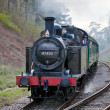 Stock Photo: Steam tank engine