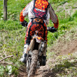 Downhill enduro — Stock Photo