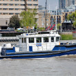 Thames police boat — Stock Photo