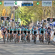 Oxbridge cycle race - Foto Stock