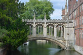 Cambridge bridge of sighs — Stock Photo