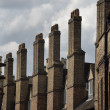 Stock Photo: Tall Chimneys